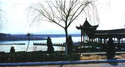 白沙湖风景区