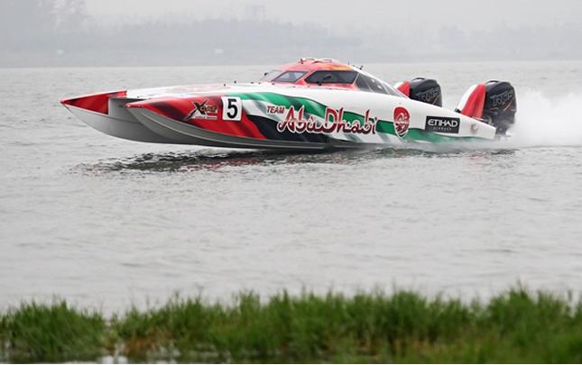 摩托艇世錦賽在鄭州舉行