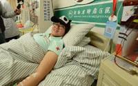 """河南""""熊貓血""""女孩捐獻造血幹細胞"""