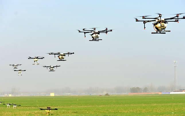 河南夏邑:植保無人機開辟脫貧新途徑