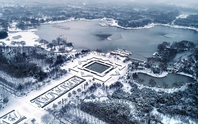 洛陽:古城雪中更迷人
