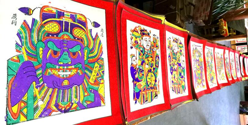 朱仙鎮木版年畫裏的傳統新年記憶