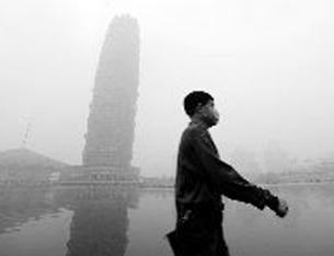 重污染天氣預計持續到23日 外出注意防霧霾