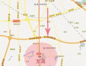 郑州南龙湖5连拍楼面价破7500元/㎡