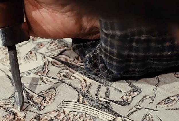 朱仙鎮木版年畫世代承襲、師徒相傳,形成了發展一千多年的藝術制作技藝。