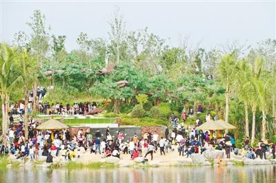 郑州园博园累计接待游客已突破200万人次