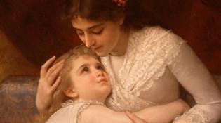 诗画中的母亲节