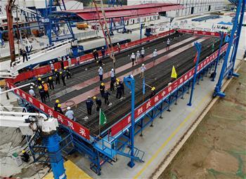 我国高速铁路40米简支箱梁首次实现工程化应用