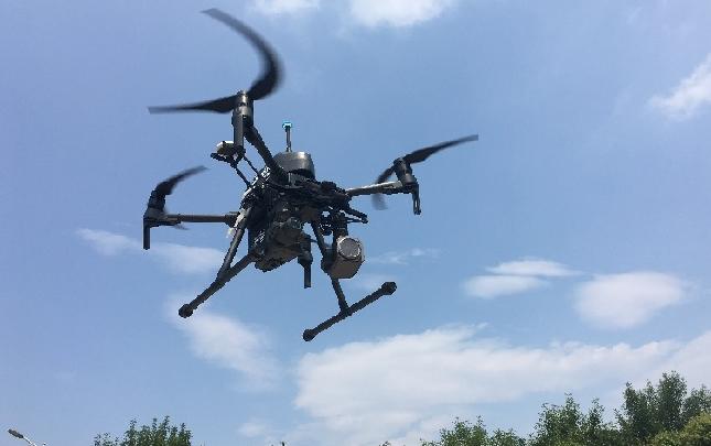 平顶山:用定制无人机监测污染源