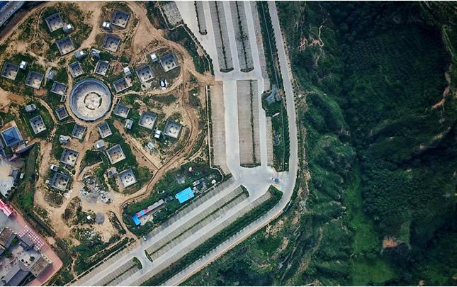新老照片中的陕州地坑院,自有别样风采