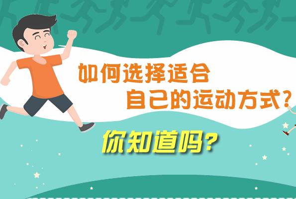 運動很重要,選擇什麼樣的運動方式更重要!