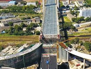 鄭州農業路高架有望明年4月全線通車