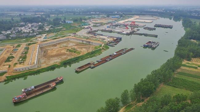 【航拍】周口:滿城文化半城水