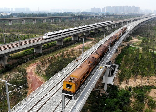 鄭州:受臺風影響停運列車陸續恢復