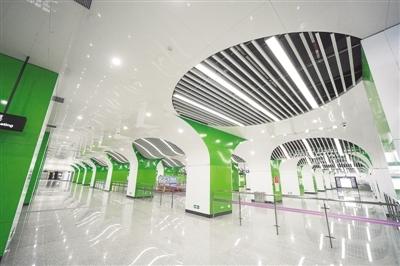 鄭州地鐵14號線即將開通運營 線路長7.455公裏