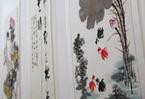 河南省圖書館建館110周年書畫展開幕 110幅優秀作品亮相