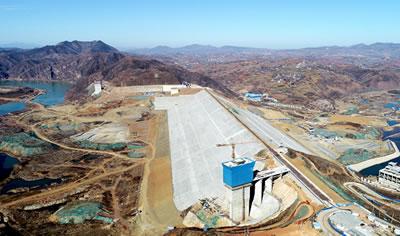 河南有序推進十大水利工程和省重點項目復工開工