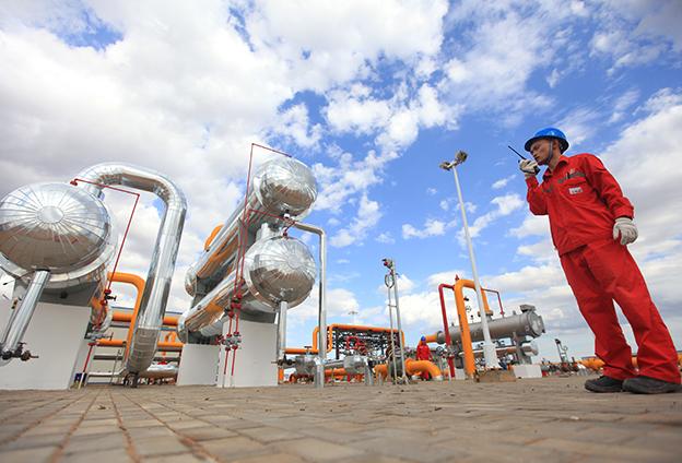 在疫情期間,我們保持油氣生産的連續性,確保民生用氣不受影響。