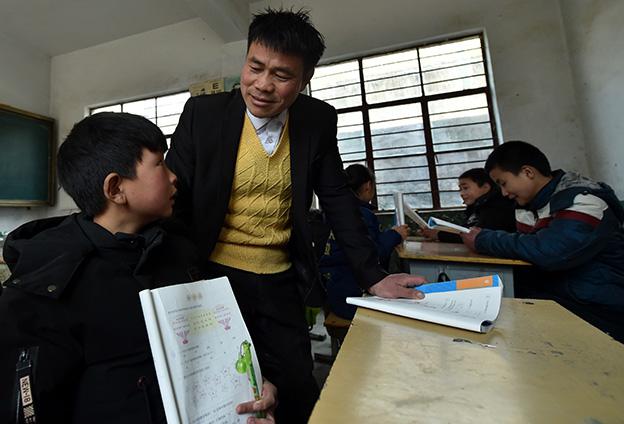 學生們能夠用知識改變命運,一批批走出去,找到好的工作崗位,這讓我覺得從事教師這個職業是非常幸福的。