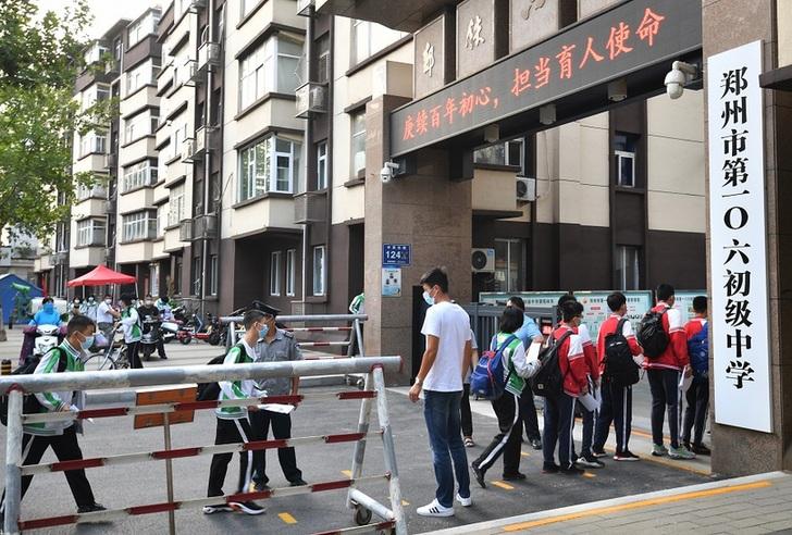 開學啦!鄭州市高三、初三學生返校復課
